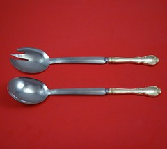"""Legato by Towle Sterling Silver Salad Serving Set Modern Custom Made 10 1/2""""  - $149.00"""