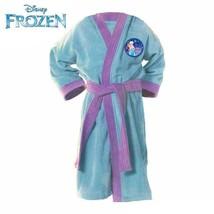 Disney Blue with Purple Frozen Girls Bath Robe by Intima Hogar - $59.95