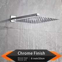 Brushed Golden Rainfall Shower Head - $89.00