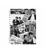 Laurel & Hardy Black & White Montage A5 Notebook - $12.49