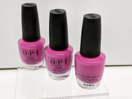 3 - OPI Nail Lacquer - No Turning Back From Pink Street - NL L19 NLL19 - $12.69