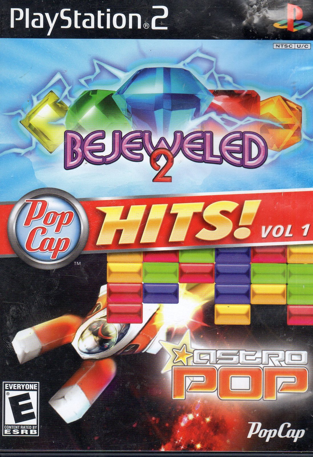 PopCap Hits! Vol. 1 (Bejeweled 2 / Astro Pop),  PlayStation 2