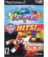 PopCap Hits! Vol. 1 (Bejeweled 2 / Astro Pop),  PlayStation 2 - $8.50