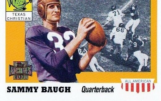 Primary image for 2001 Topps Archives Sammy Baugh Football Trading Card #88 Texas Christian