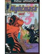 Nightmask #2 [Comic] [Jan 01, 1986] - $1.95