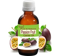 Passion Fruit Pure Natural Carrier Oil-5ml to 250ml Passiflora edulis by... - $8.59+