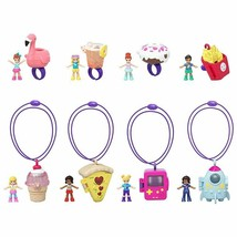 Polly Pocket Tiny Takeaway Ring or Necklace Set! Get 1 of 8 sets! Ships ... - $8.86