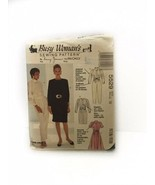 Mccalls 5529 Busy Womans Misses Jumpsuit Dress Vintage Sewing Pattern Si... - $9.89