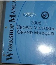 2006 FORD CROWN VICTORIA MERCURY GRAND MARQUIS Service Shop Repair Manua... - $98.99