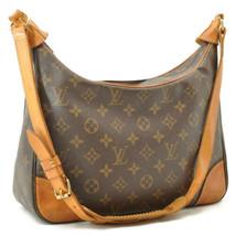 LOUIS VUITTON Monogram Boulogne 30 Shoulder Bag M52165 LV Auth 10305 No ... - $318.84
