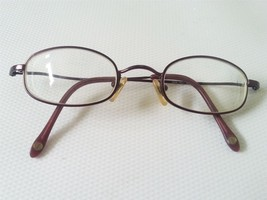 NINE WEST Designer Full Metal Rim Eyeglass Frame Unique Brown 0C5B 42-21-140 - $15.85