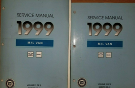1999 Chevy Astro GMC Safari Service Shop Repair Manual SET OEM Factory OEM GM - $32.62