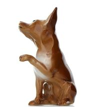 Hagen Renaker Dog Chihuahua Sitting Brown and White Ceramic Figurine image 5
