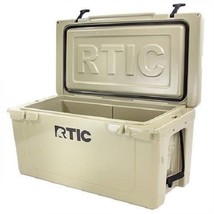 NEW 2017 DESIGN RTIC 65 Tan Beer Bottle Storage Cooler Free Shipping - $287.09