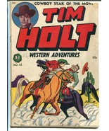 Tim Holt Western Adventures #1 1948-ME-1st issue-Frank W. Bolle art-phot... - $297.06