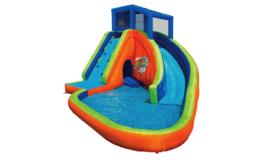 Banzai Sidewinder Falls Inflatable Water Park Kiddie Pool with Slides & ... - $1,299.99