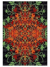 Rugsotic Carpets Machine Woven Heatset Polypropylene 5'x8' Area Rug Flor... - $109.00