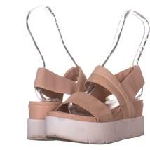 Franco Sarto Velma Platform Sandals 608, Blush, 7 US / 37 EU - $28.79