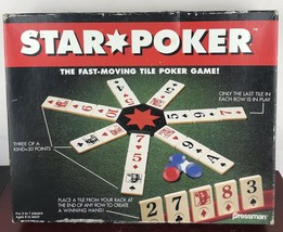 Pressman Star Poker Tile Game 1994 - $14.03