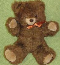 "16"" 1985 Commonwealth TEDDY BEAR Brown Plush Stuffed Animal Toy Vintage ... - $28.05"