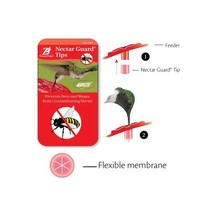 Aspects 384 hummingbird Feeder Nectar Guard Tips, bee- and wasp- proof tips - $7.74