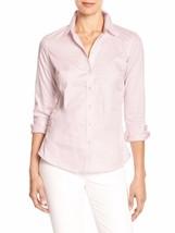 14641 Banana Republic Women's Tailored Non-Iron Button Down Shirt Pink 2... - $45.82