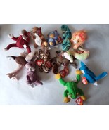 Mixed Lot of 12 TY Beanie Babies - $14.84