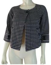 Ann Taylor Loft Petites XSP Jacket Stretch Cotton Retro Mod 60s Short Trapeze - $48.51