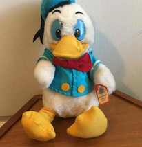 "Vtg Donald Duck Plush Walt Disney Characters Disneyland Usa 13"" New With Tags!! - $38.61"