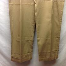 Polo by Ralph Lauren Men's Gold Cotton Dress Pants Sz 38/30 image 3