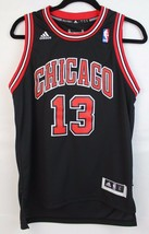 NBA Adidas youth kids Chicago Bulls 13  jersey sew sleeveless black size... - $17.56