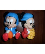 Disney Babies BABY MICKEY MOUSE & LION & MICKEY FOOTBALL OUTFIT  Squeaky... - $11.95