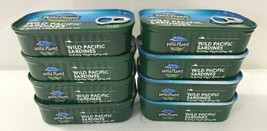 10 Cans Wild Planet Sardines In Extra Virgin Olive Oil Lightly Smoked 4.4oz 6/23