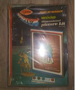 New Old Stock Arrow Paint By Number Spirit Of 76 Wood Picture Kit Vintag... - $25.73