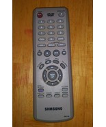 Samsung DVD Remote Control Model 00011M Gray Tested Working OEM - $9.89