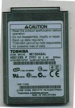 "Toshiba 10GB 4200 RPM,1.8"" HDD1285 MK1504GAL for iPod classic 2nd Gen"