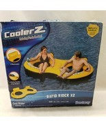 CoolerZ Bestway Rapid Rider X2 Inflatable Tube X2  Float Pool Toy Mesh B... - $29.69