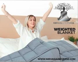 "Nirvana Universe – BPA & Lead Free Weighted Blanket (15lbs, 48""x 72"", Fu... - $109.71"
