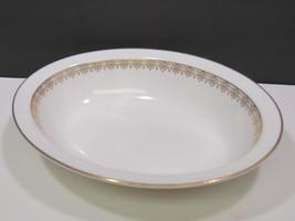 "Royal Doulton Gold Lace Oval 10.75""  Serving Vegetable Bowl - $79.20"