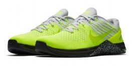NIKE METCON DSX FLYKNIT GHOST GREEN VOLT BLACK WHITE PURE PLAT 852930 70... - £70.39 GBP