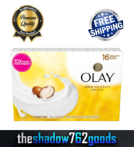 16 Bars - Olay Ultra Moisture with Shea Butter Beauty Bars (5 oz) FREE S... - $29.44