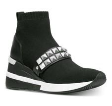 Michael Kors Skyler Bootie Fabric Black Size 7 New - £97.63 GBP