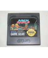 SEGA GAME GEAR - ARCH RIVALS - THE ARCADE GAME (Game Only) - $18.00