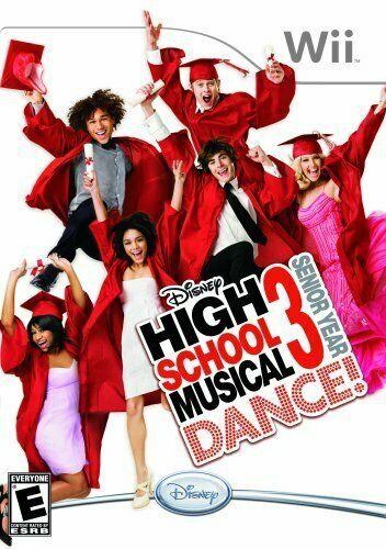 Disney High School Musical 3: Senior Year Dance! - Nintendo Wii