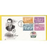 RICHARD NIXON PRESIDENTIAL INAUGURATION DAY WASHINGTON DC 1/20/1973  - £2.15 GBP