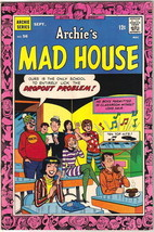 Archie's Madhouse Comic Book #56, Archie 1967 VERY FINE- - $18.30