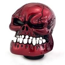 Thruifo Skull Gear Stick Shift Knob, Big Teeth Devil Head Shape MT Car S... - $26.53