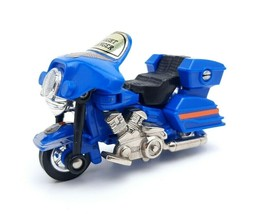 Vintage Go-Bots NIGHT RANGER Figure Toy Motorcycle 1984 Tonka Bandai - $14.48