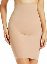 SPANXHigh Tummy Control Seamless High-Waist Half Slips Dress, Nude, Small - $31.81