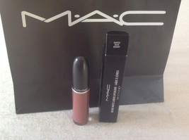 Authentic Mac Retro Matte Topped With Brandy Liquid Lip Color Long Lasting,Nib - $26.50